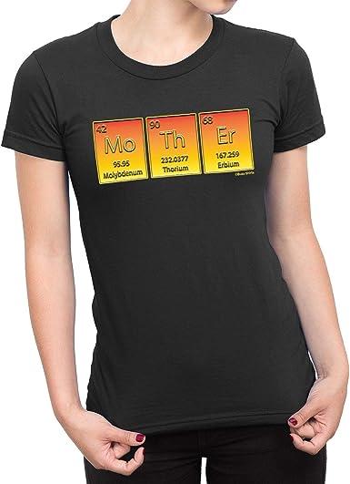 buzz shirts De Las Mujeres Madre Ciencia Química Camiseta: Amazon.es: Ropa y accesorios
