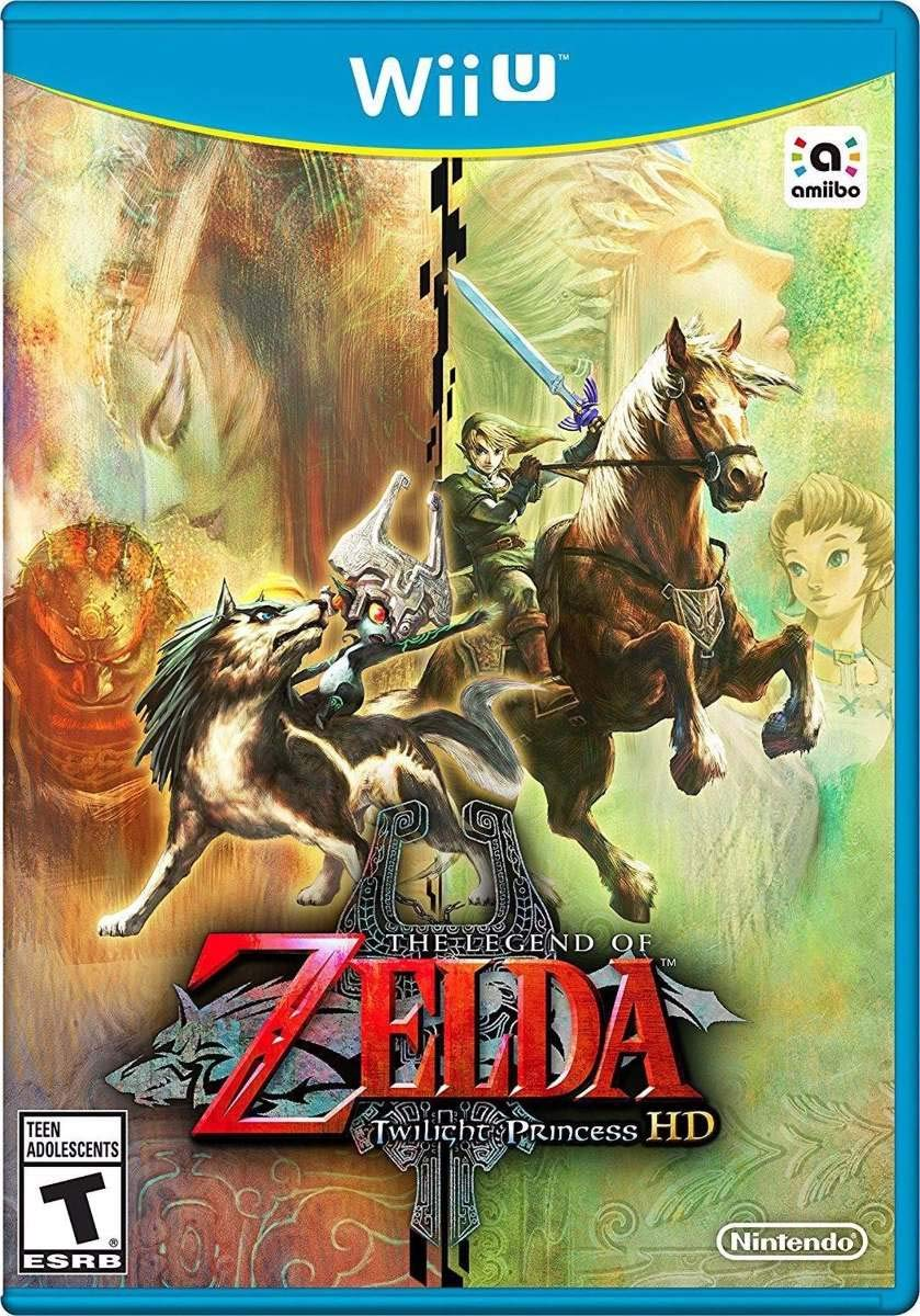 The Legend of Zelda: Twilight Princess HD (Game Only)