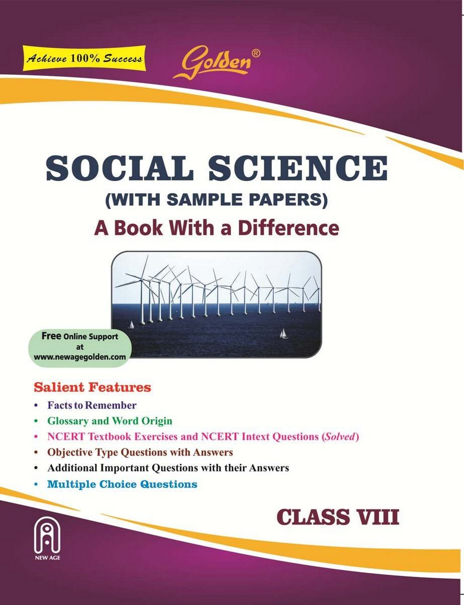 Golden Social Science: With Sample Papers A book with a Difference for Class-  8 For 2019 Final Exams: Amazon.in: Singhal J P: Books