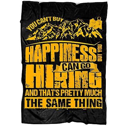 77ea0ac8775f Amazon.com  COLUSTORE You Can t Buy Happiness Soft Fleece Throw ...