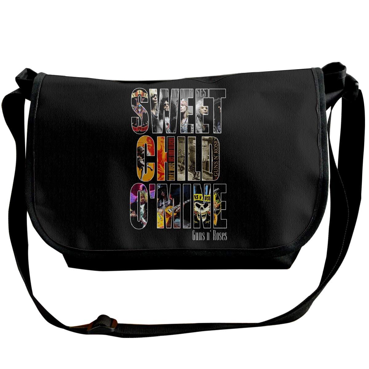 Classic Guns NRoses-Sweet Child Omine Messenger Bag Shoulder Bag For All-Purpose Use
