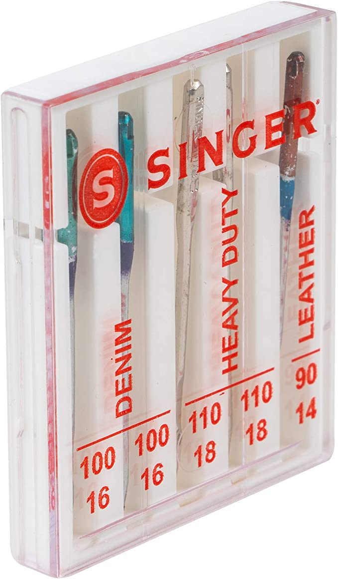 SINGER 04801 Universal Heavy Duty Sewing Machine Needles 5-Count
