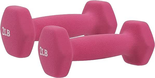 Amazon.com : Sunny Health & Fitness Neoprene Dumbbell - 2