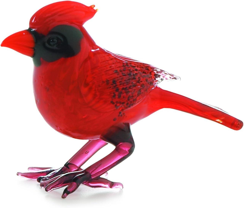 Twinkling Treasures 3D Blinking Christmas Ornament CARDINAL BIRD