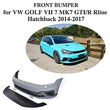 jcsportline clubsport-Style Parachoques Delantero para Volkswagen Golf 7 MK7 GTI/R Rline Hatchback