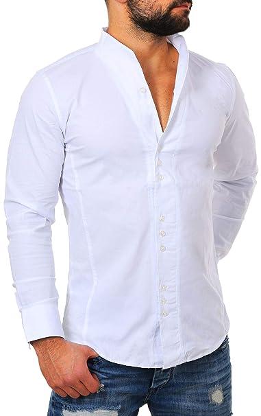 Carisma - Camisa Casual - Cuello Congregado - Manga Larga - para Hombre   Amazon.es  Ropa y accesorios dbb96608520