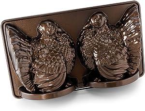 Nordic Ware Classic Turkey 3D Pan, Bronze