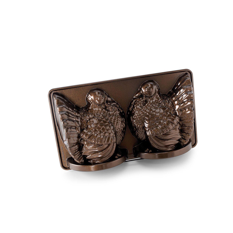 Nordic Ware Classic Turkey 3D Pan, Bronze Nordicware 52348