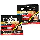 Fungi Nail Pen Brush Applicator, 1.7 ml - 2pc