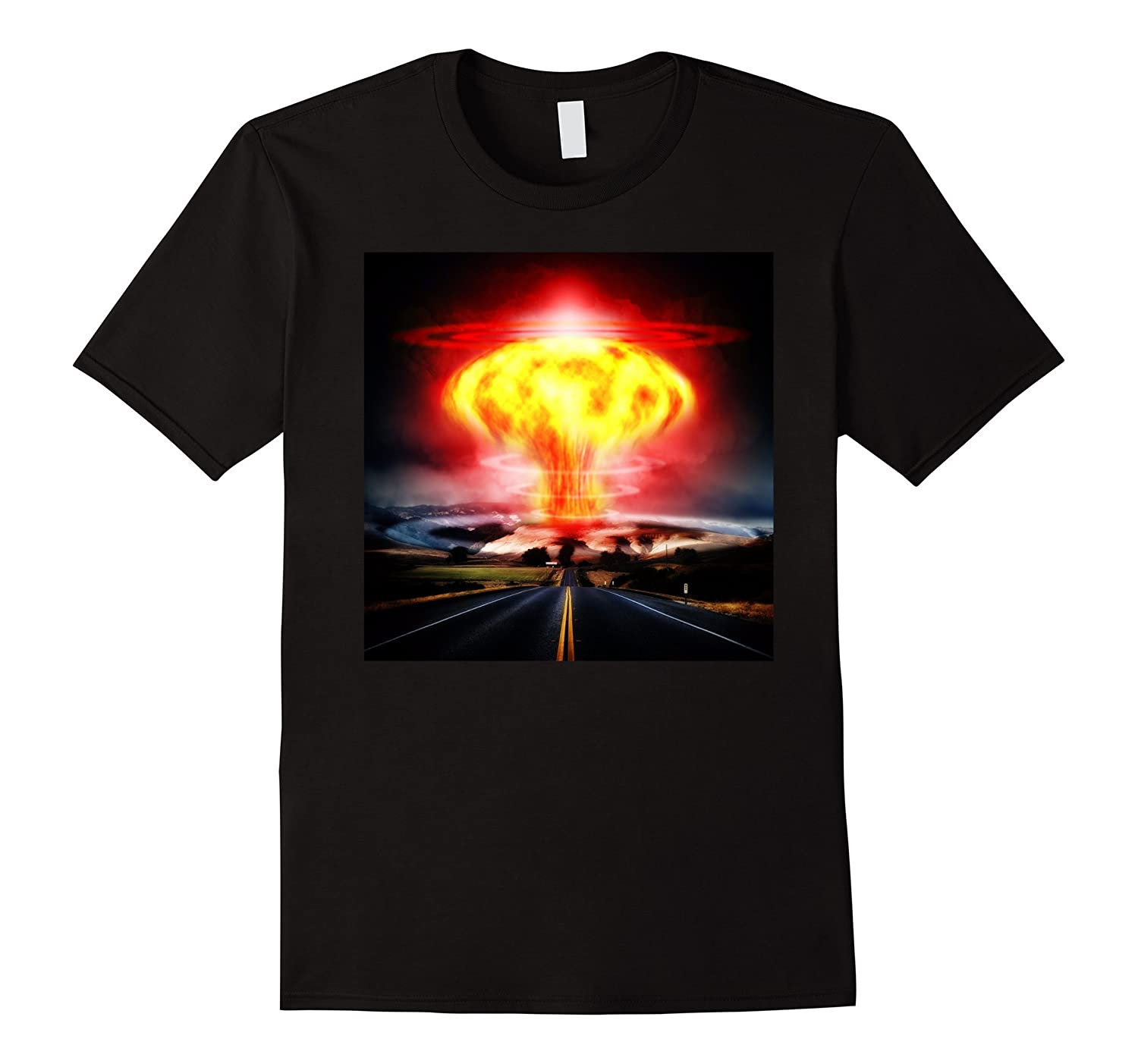 NUCLEAR BLAST EXPLOSION FALLOUT RADIATION T-SHIRT-TH