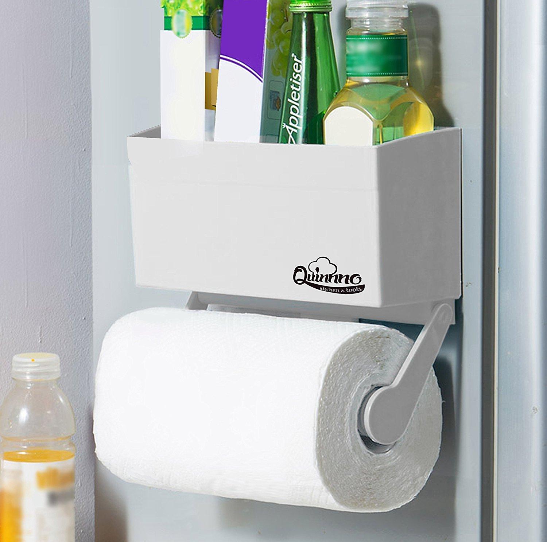 amazon com my refrigerator rack magnetic fridge paper towel