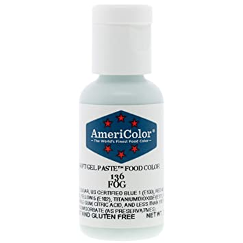 Food Coloring AmeriColor Fog Soft Gel Paste .75 Ounce
