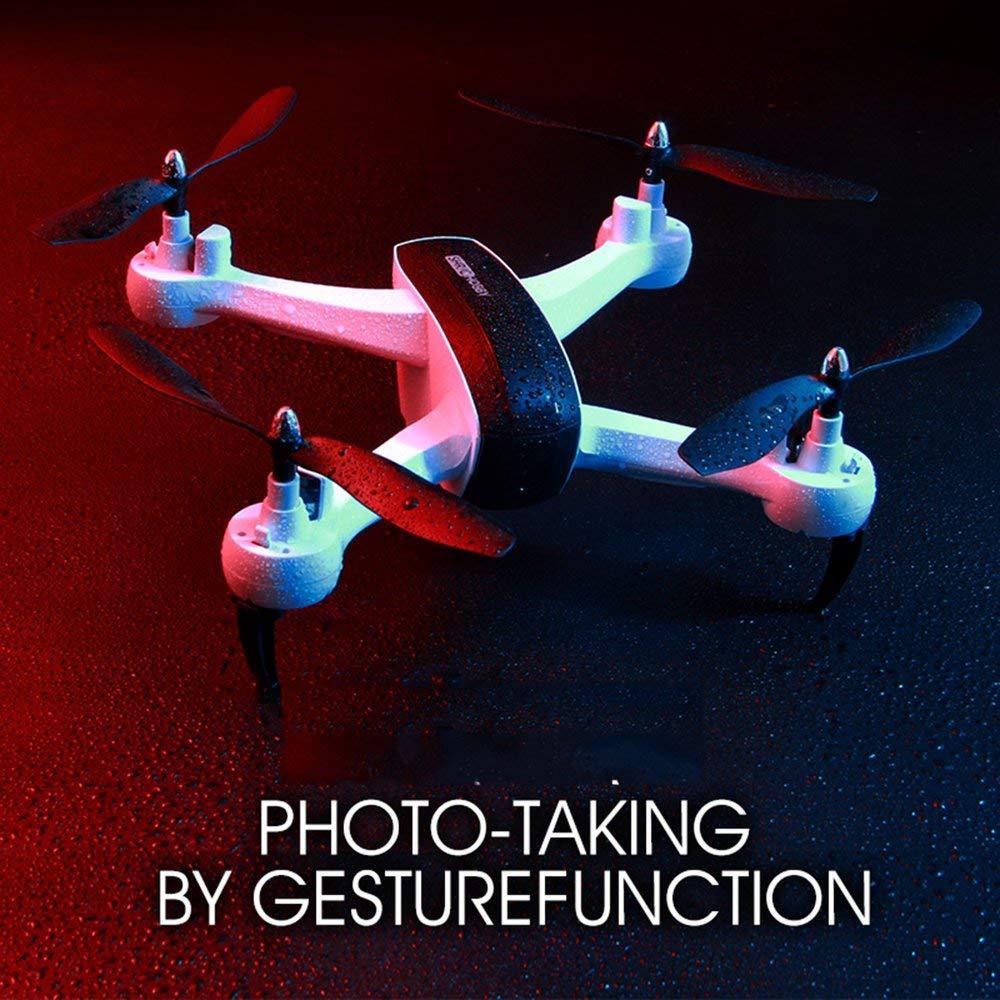 Erduo 1080P WiFi FPV HD Kamera SH7 RC Drohne RC Quadrocopter Set Höhe Schweben Geature Selfie Intelligent Folgen Ziel - Weiß