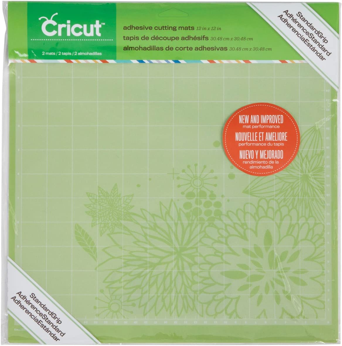 Cricut StandardGrip Cutting Mat for Crafting 6 by 12-Inch 2001972