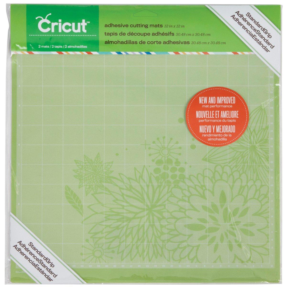 Cricut Adhesive Cutting Mat Standard Grip 12 x 12 2 pieces Per Package