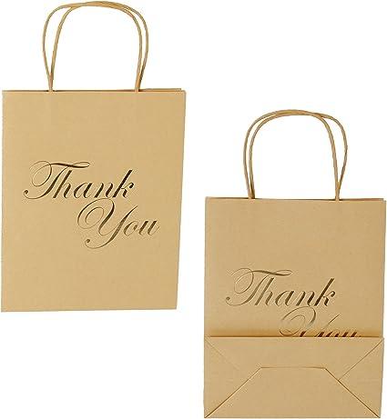 Amazon.com: LaRibbon – Bolsas de regalo de tamaño mediano ...