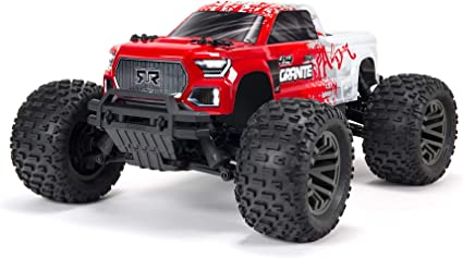 Amazon Com Arrma 1 10 Granite 4x4 V3 3s Blx Brushless Monster Rc Truck Rtr Transmitter And Receiver Included Batteries And Charger Required Toys Games