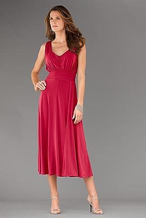 Chadwicks Chadwicks Shape Benefits Sleeveless Ruched Dress At Amazon