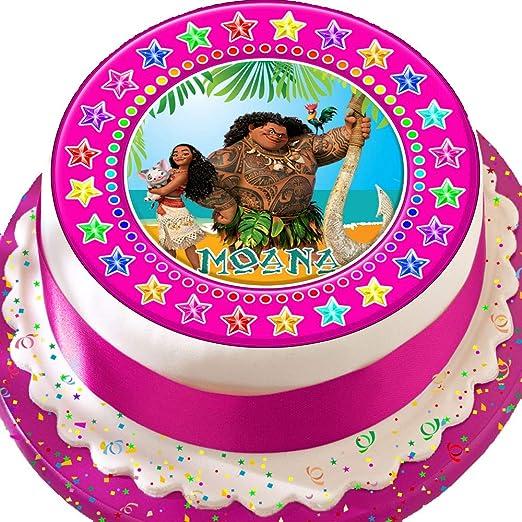 Moana Maui Rosa Star frontera Cumpleaños troquelada ...