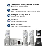 Panasonic KX-TGE484S2 DECT 6.0 4 Handset Landline