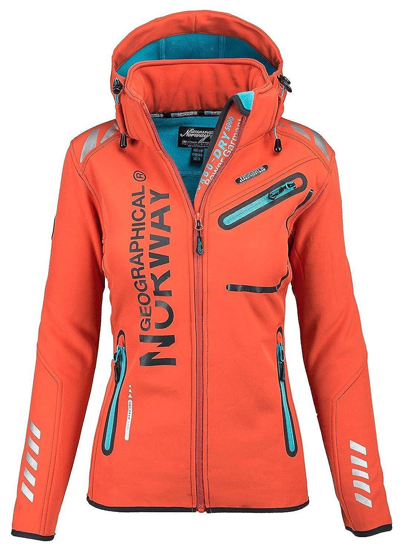 Geographical Norway Lady Chaqueta funcional al aire libre para mujer Softshell Jacket GeNo-24