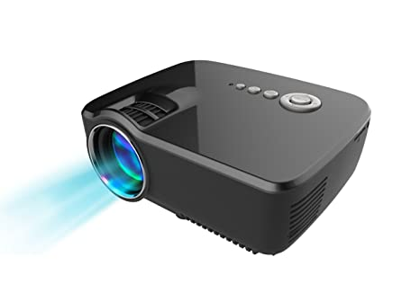 GP70 Projector, GP70 Mini Portable Video LED Projector 1080P for Outdoor Indoor Home Cinema Theater/Game/DVD/PC/Laptop Show,via HDMI/USB/AV/SD/VGA ...