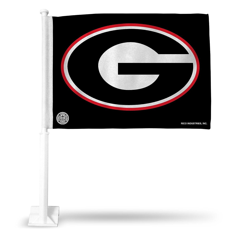 Rico Industries NCAA Georgia Bulldogs Car Flag FG110121