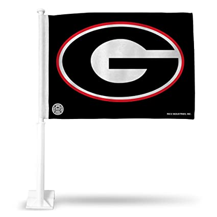 Amazon Com Rico Industries Ncaa Georgia Bulldogs Car Flag Sports