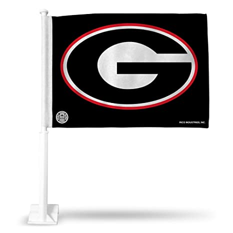 Amazon.com : NCAA Georgia Bulldogs G Logo Car Flag : Sports Fan ...