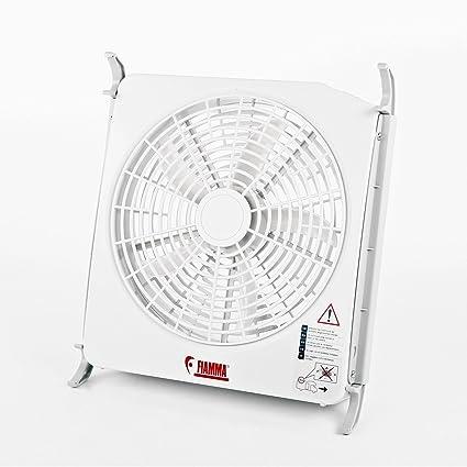 Juego de ventilador Fiamma Turbo Kit de 12 V para claraboyas de ...
