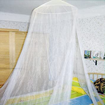 Mosquito Net Bed Canopy  sc 1 st  Amazon.com & Amazon.com : Mosquito Net Bed Canopy : Bed Frame Draperies ...