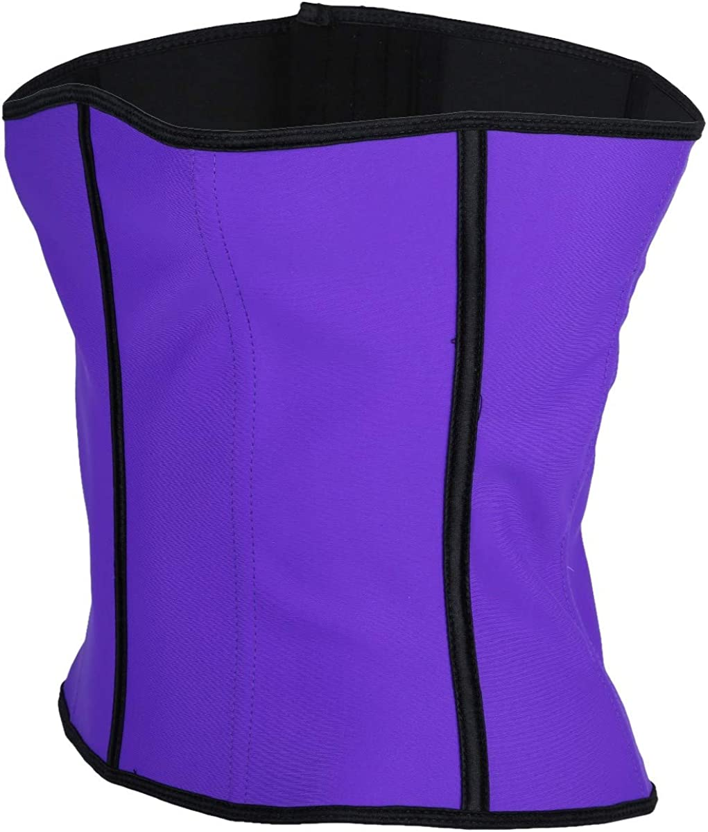 Sportmusies Women/'s Waist Trainer Corset for Weight Loss Tummy Control Sport Workout Body Shaper Cincher Shapewear