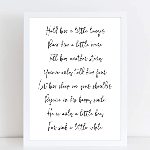 486a20fc9 Hold Him Longer Poem for Baby Boy