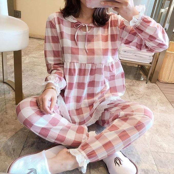 Pijama Mujer Servicio a Domicilio Pijamas Casuales de algodón ...