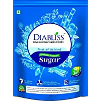 DiaBliss Diabetic Natura Friendly Herbal Sweetener Gold Stevia Splenda Alternative Sugarfree Cane Standy Pouch without Side Effects,500g