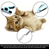 SunGrow Dog and Cat Comb, 7.4 Inches, Fur