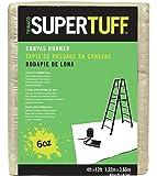 Trimaco SuperTuff 6 oz thick Utility Weight Canvas Drop Cloth, 4-feet x 12-feet