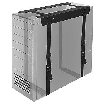 1home Debajo Escritorio Torres PC CPU Soporte con Correas Caja de Ordenador de Sobremesa Oficina Casa: Amazon.es: Electrónica