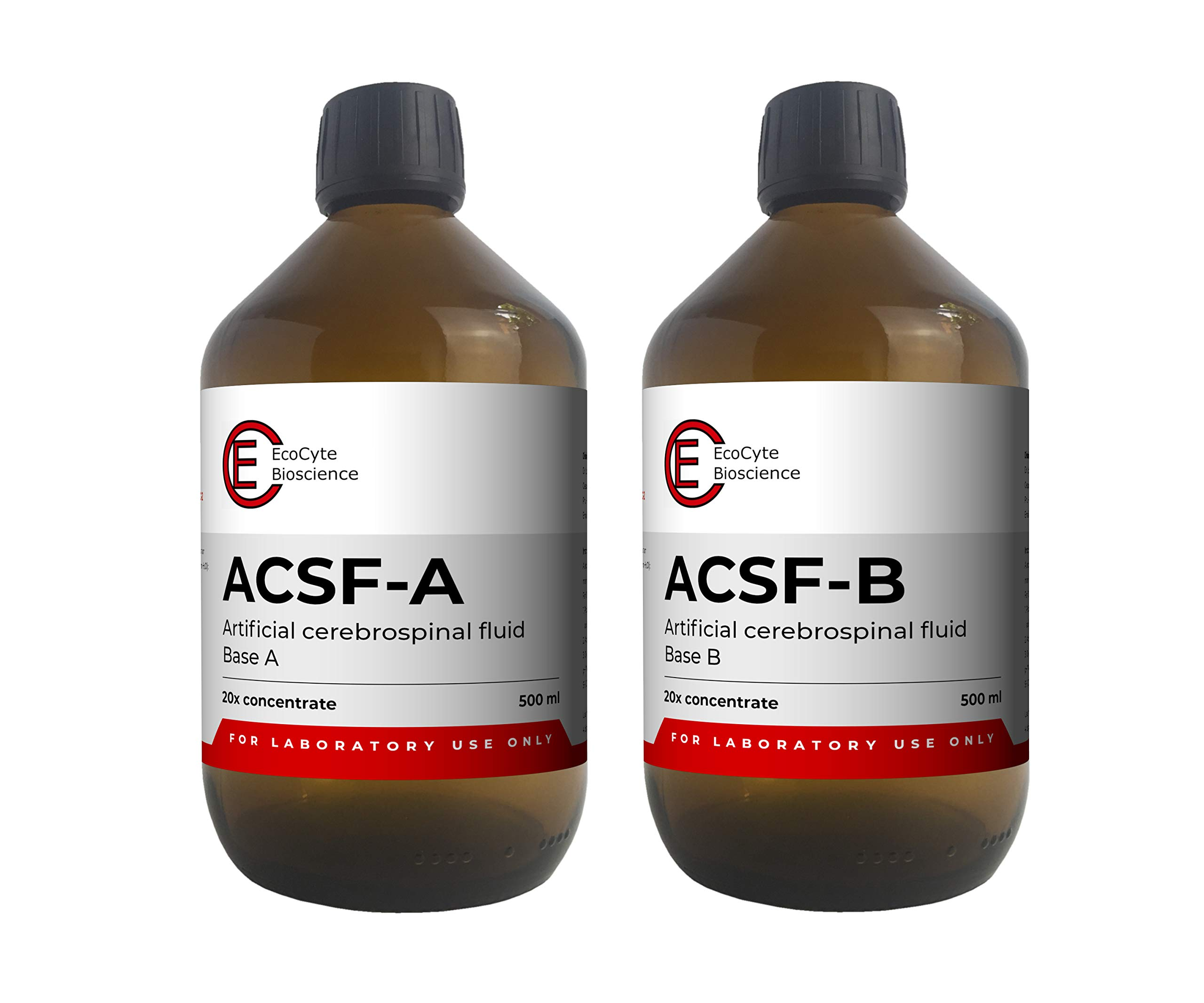 ACSF - Artificial Cerebrospinal Fluid (1000 ml) - 20x concentrate for Electrophysiology