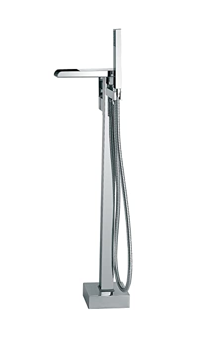 Ove Decors INFINITY FAUCET Infinity Floor Mounted Tub Faucet
