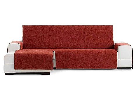 Jarrous Funda Cubre Chaise Longue Práctica Impermeable Modelo Córdoba, Color Teja-09, Medida Brazo Derecho – 240cm (Mirándolo de Frente)