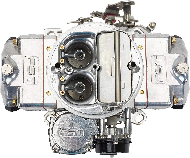 FST Carburetors 41750 Forged RT 4-bbl Carburetor 750 CFM Vacuum Secondary With E