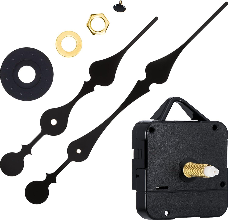 Movimiento de Reloj de Eje Largo de Par Alto de 31 mm con 2 Agujas de Spade para la Esfera hasta 51,4 cm/ 20 Pulgadas de Diámetro