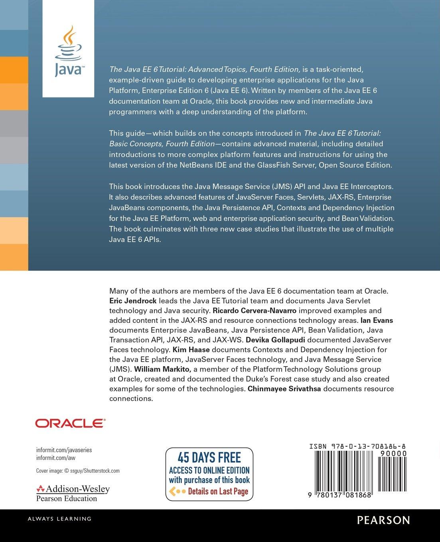 Java ee 6 tutorial pdf gallery any tutorial examples 2 the java ee 6 tutorial advanced topics 4th edition java 2 the java ee 6 baditri Images