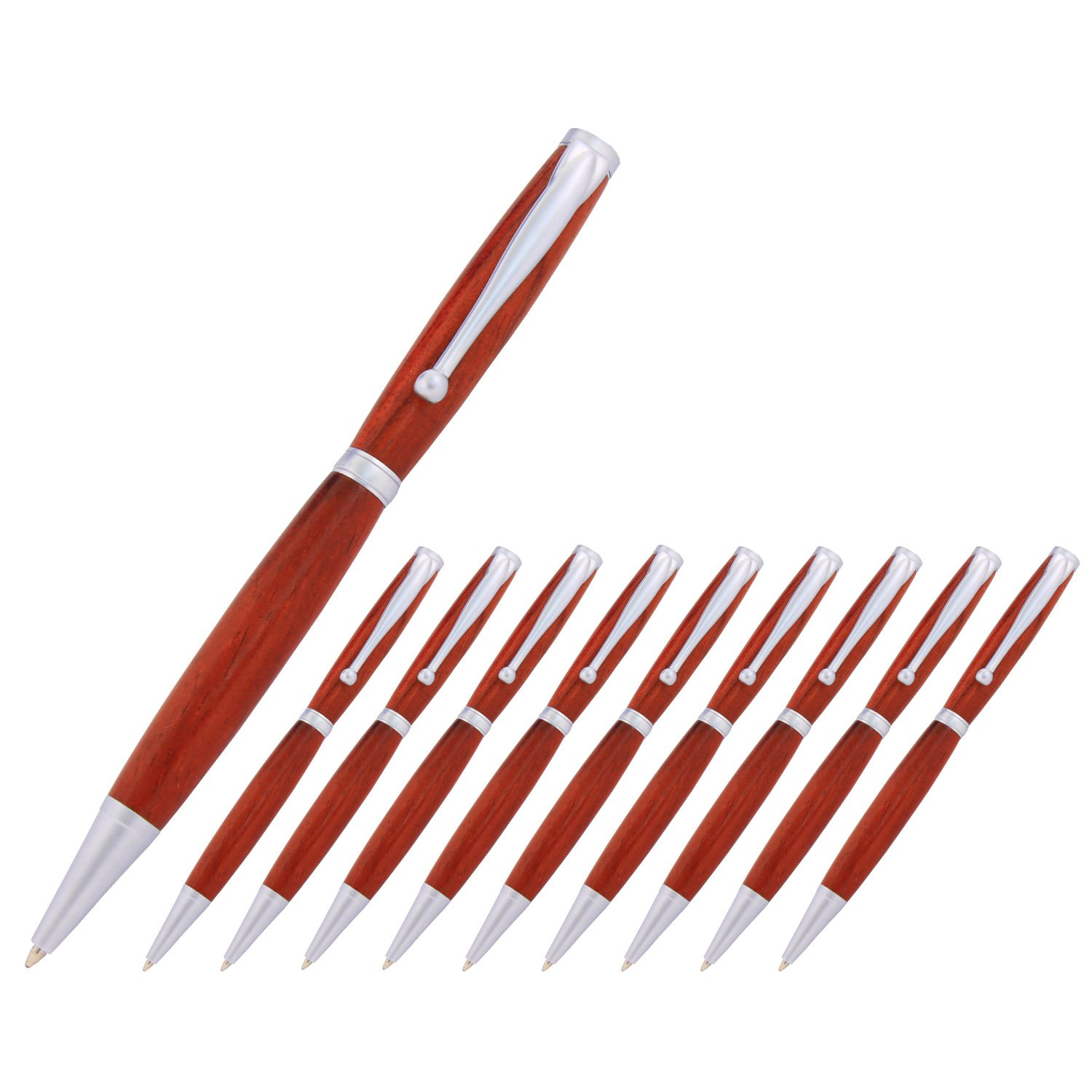 Legacy Woodturning Fancy Pen Kit Multi-Packs The Instrument Store Fancy/_Gun/_Metal/_10 Many Finishes