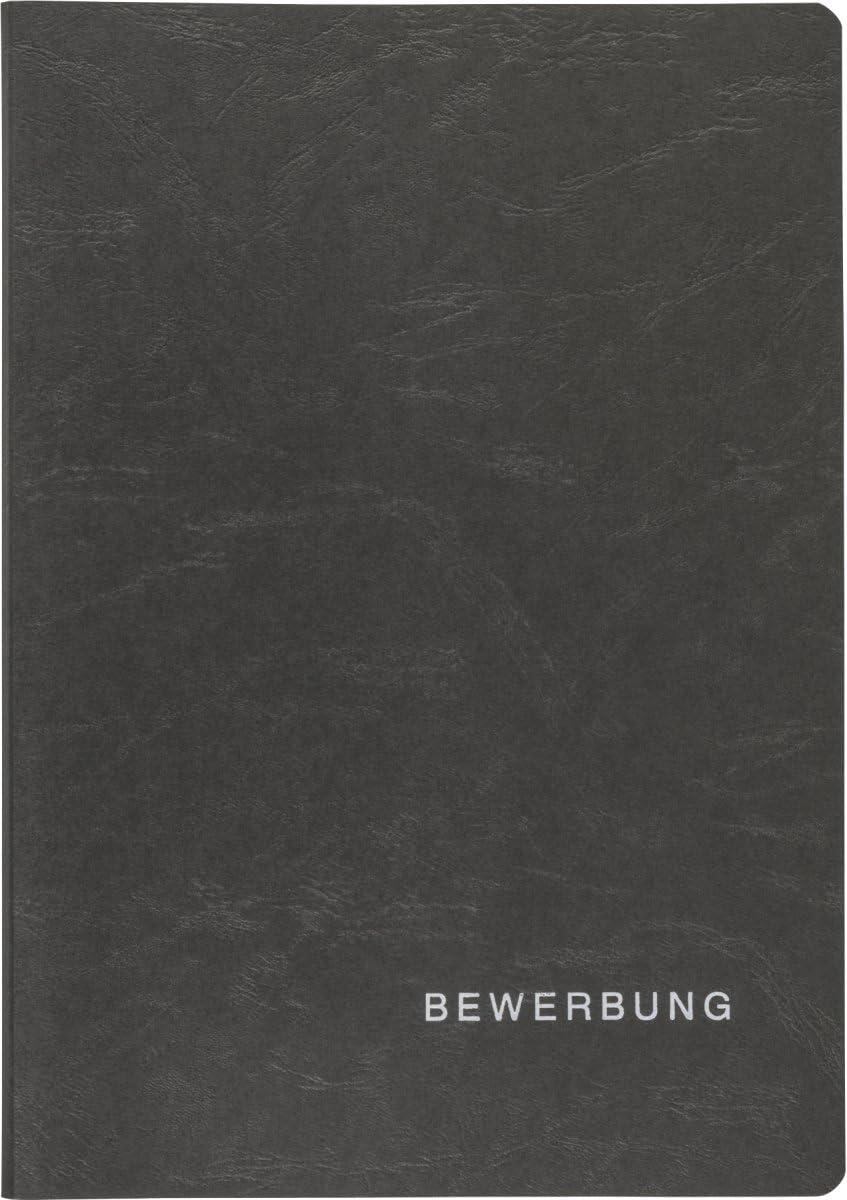 color negro Carpeta portadocumentos con 3 caras Brunnen cart/ón, tama/ño DIN A4