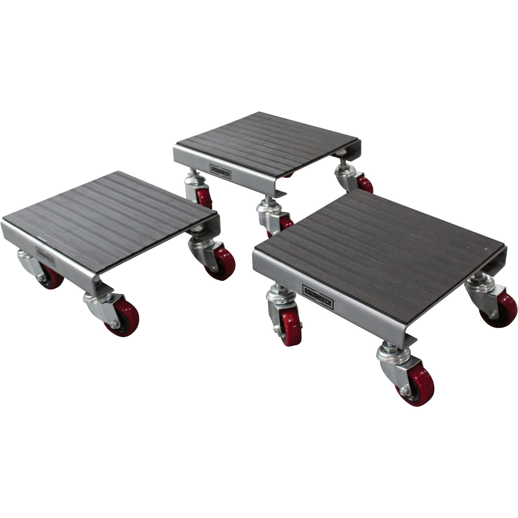 Roughneck 3-Pack Utility Dolly Set - 1500Lb. Capacity, Steel
