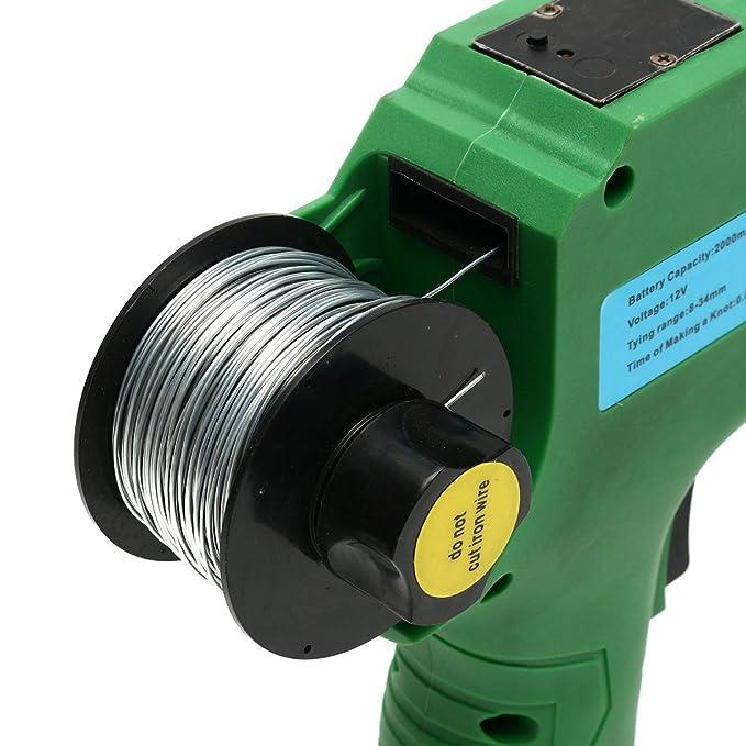 12 V automático rebar máquina de escribir rebar nivel herramienta correa 8 mm-34 mm: Amazon.es: Bricolaje y herramientas