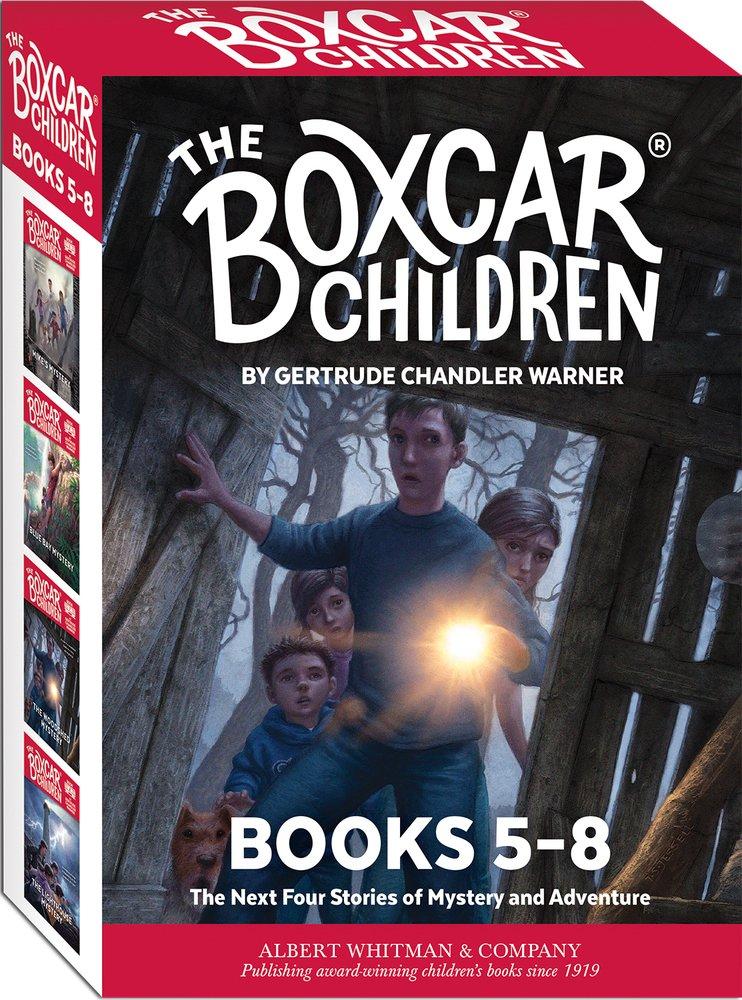 The Boxcar Children Mysteries Books 5-8 (Boxcar Children)) by Albert Whitman & Company