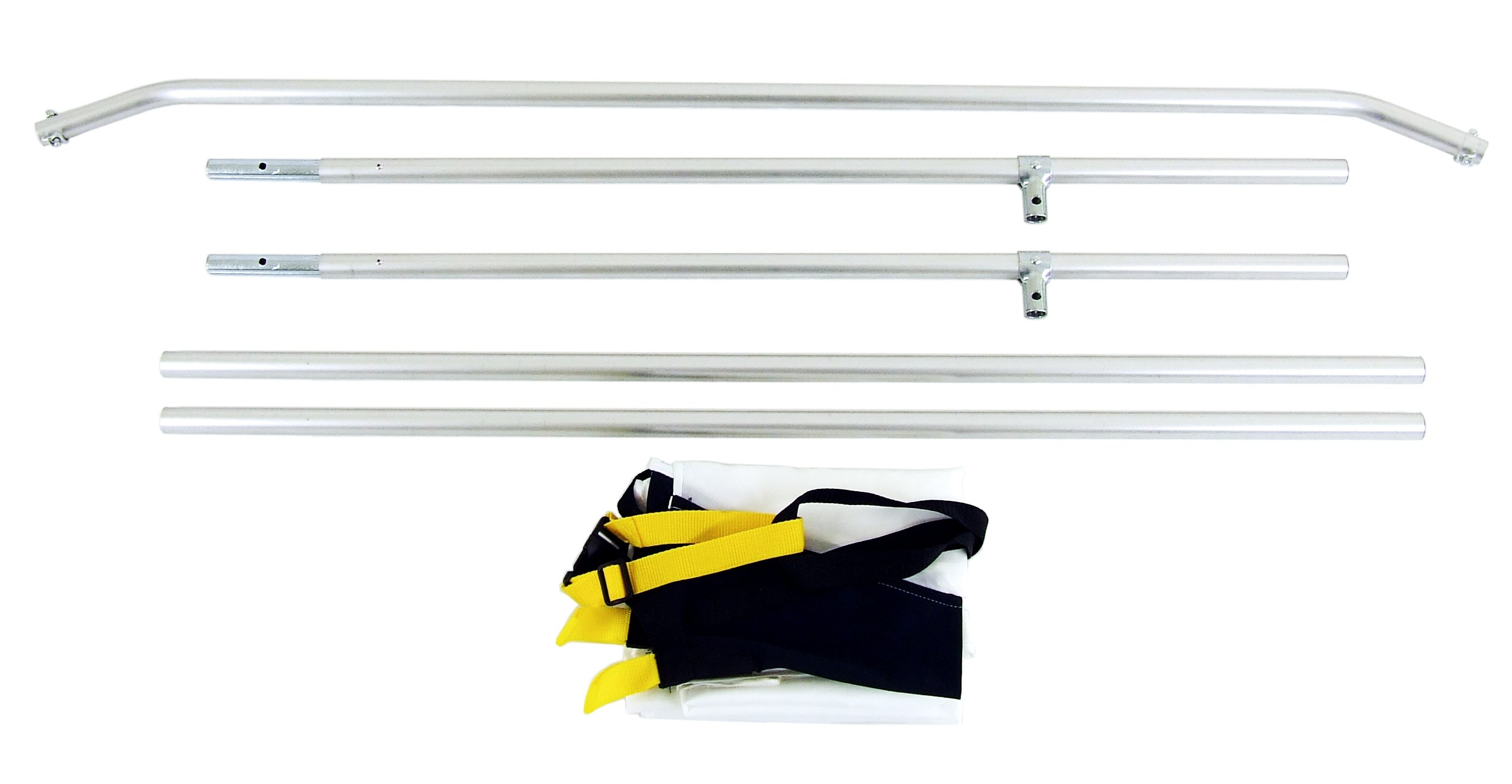 California Sun Swatter Pro (4 x 6 Feet) Super Saver Starter Kit - 2/3 Stop Overhead Diffusion Kit with Frame and Carry Bag